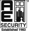 AE Security logo