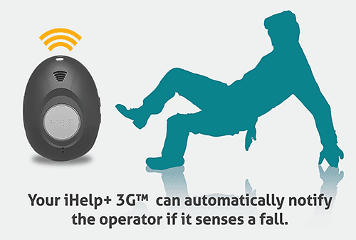 ihelp alerting operator of fall